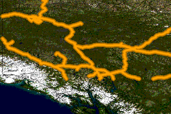 Rendered Bluemarble Image